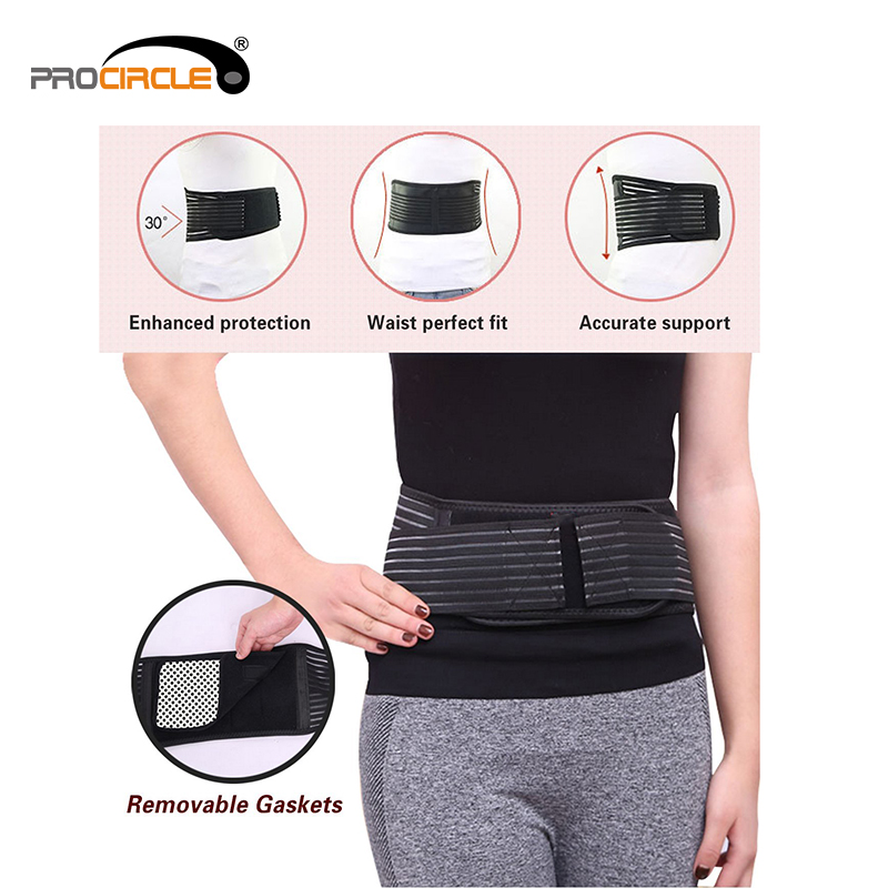Neoprene Weight Loss Sweat Belt Waist Trimmer Slimming Belt Back Support Belt