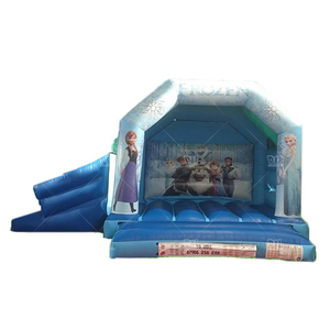 New manufacturer outlet frozen cartoon inflatable bouncer house for sale