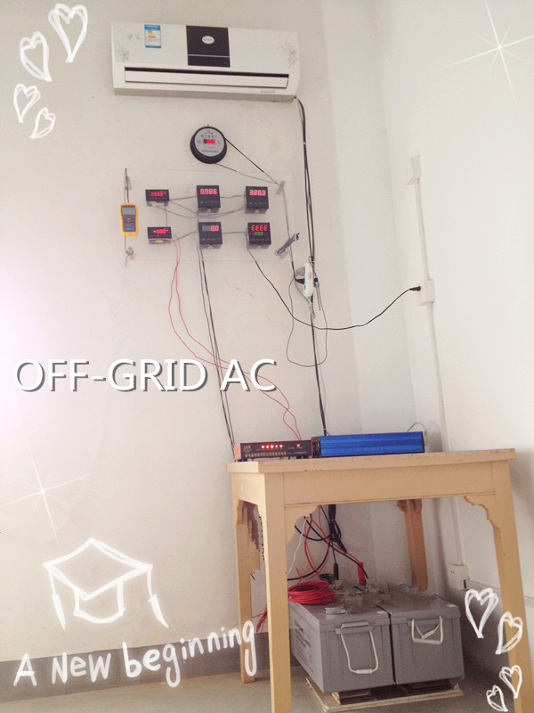 Solar Powered Air Conditioner Energy Saving Dc Inverter