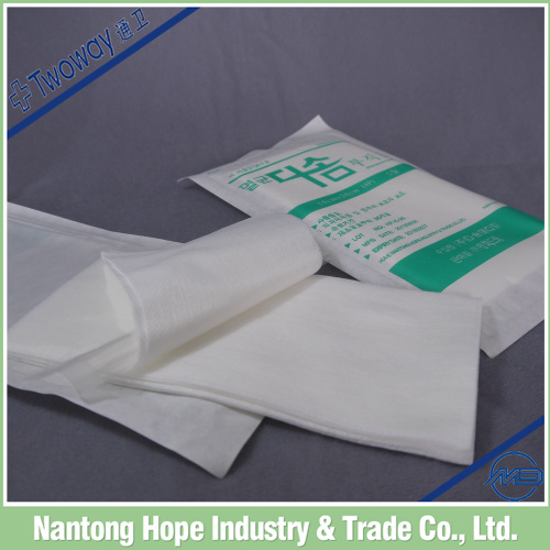 Aseptic packaging medical cotton non-woven swabs