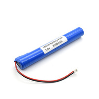 2018 Hot sale 7.4v 3500mah 18650 li ion battery pack for Scooter