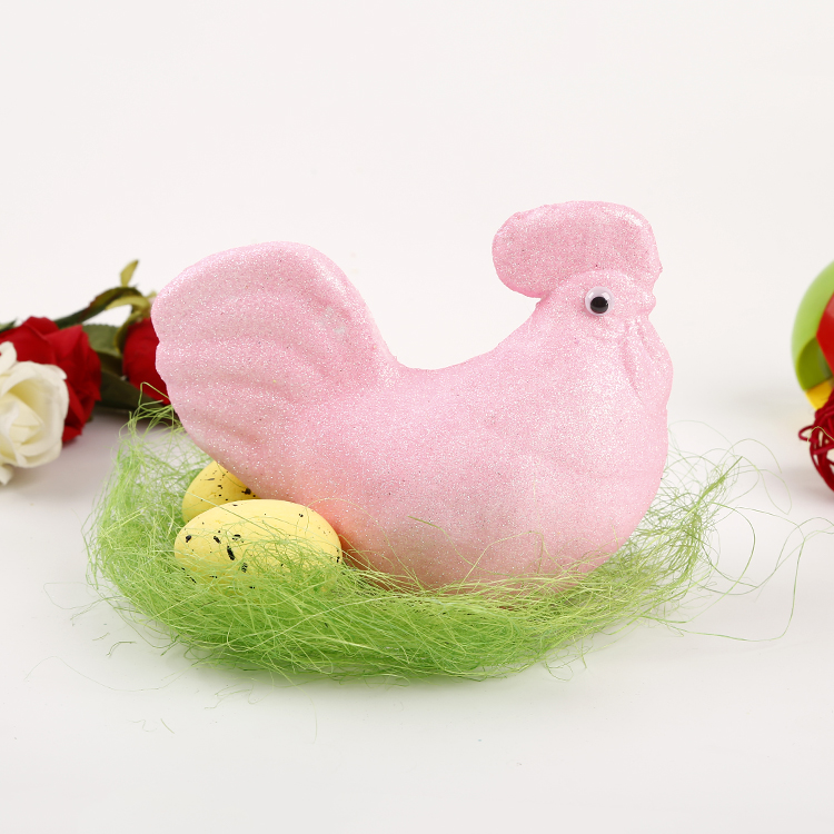 Besting Selling Easter Foam Chickens Rabbits Eggs Decorations