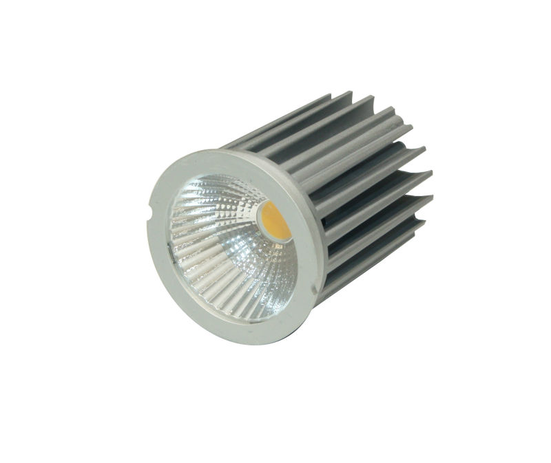 Halogen replacement 9W LED module sliver aluminum dimmable recessed ceiling light