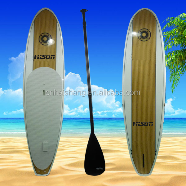 Popular epoxy LED Wood grain stand up paddle boards
