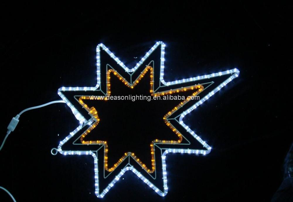 Led christmas star rope light motif buy outdoor christmas star led christmas star rope light motif aloadofball Gallery