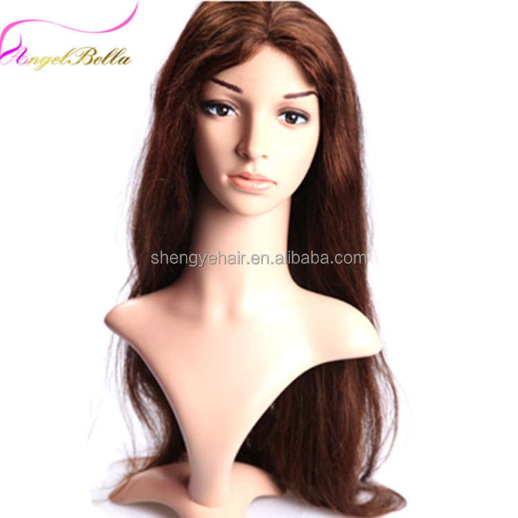 Angelbella Hair Brand 100% Chinese Human Hair Tina Wigs Human Hair Wigs For White Women