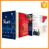 Big factory supply professional tri-folded poster printing and brochure