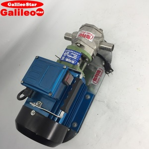 GalileoStar4 reservations at pump internal gear pump working
