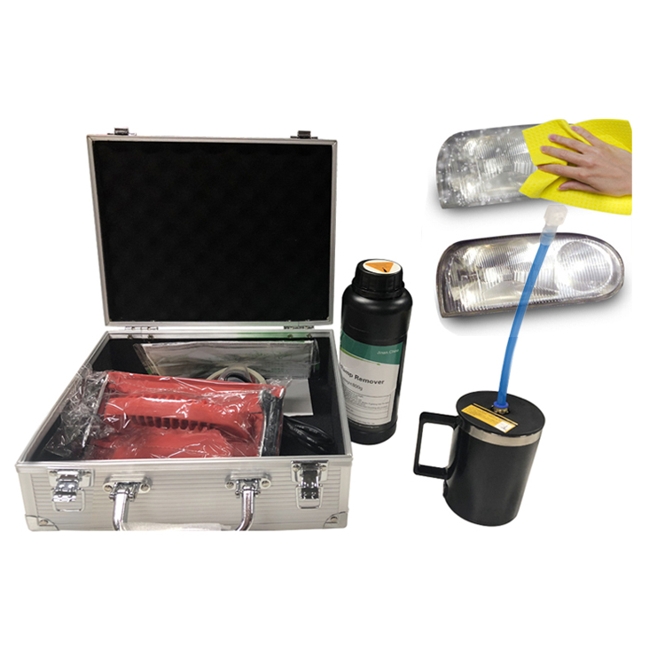 Car Head Light Cleaning Kit Headlight Steamer Liqud Steam Headlight