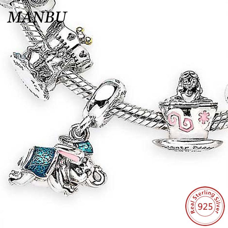 Alice in Wonderland Charm Bracelet with Presentation Gift Box Ladies Girls