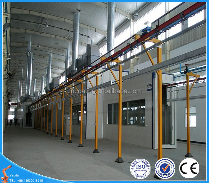 Electrostatic Powder Coating Line Spraying Equipment / Powder Painting Machine