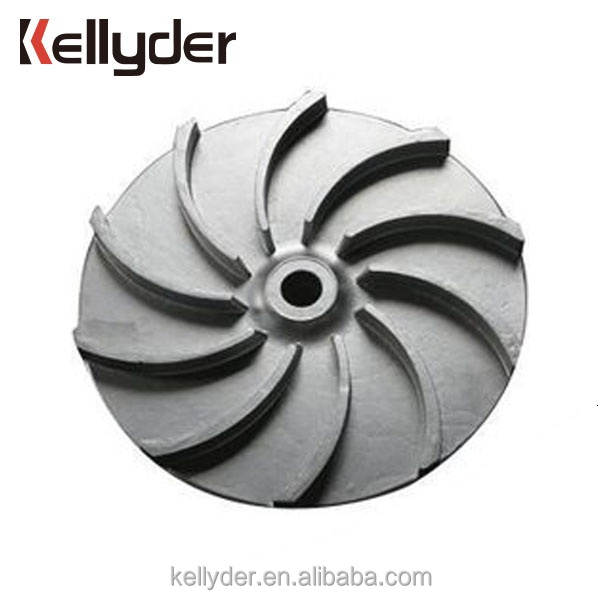 Customized Small Tolerance Flexible Sand Casting Aluminum Water Pump Impeller