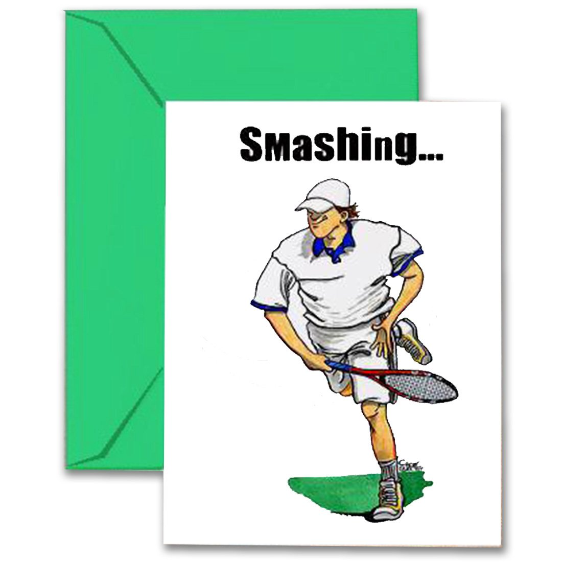 Cheap sports greeting cards find sports greeting cards deals on get quotations tennis birthday card 5x7 play strong sports birthday greeting cards awesome for players m4hsunfo