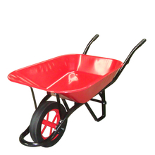 Metal tray 65L capacity heavy load building wheelbarrow