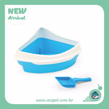 Triangle Fashion Cat Litter Pan