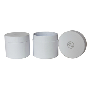 Custom print cylinder tube round hat boxes for Watch package