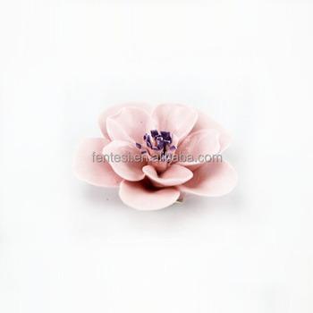 Mini Porcelain Flowersceramic Lotus Flower Buy Handmade Ceramic