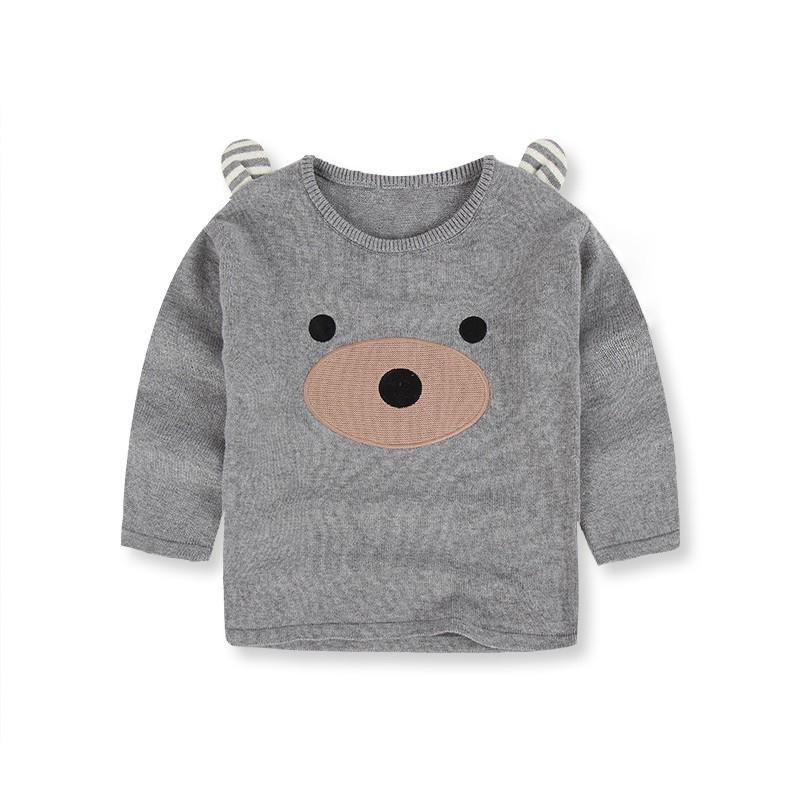 Nuevos Niños Suéter Bebé Suéter de Lana de Invierno de Dibujos ... 3fc97daf4289