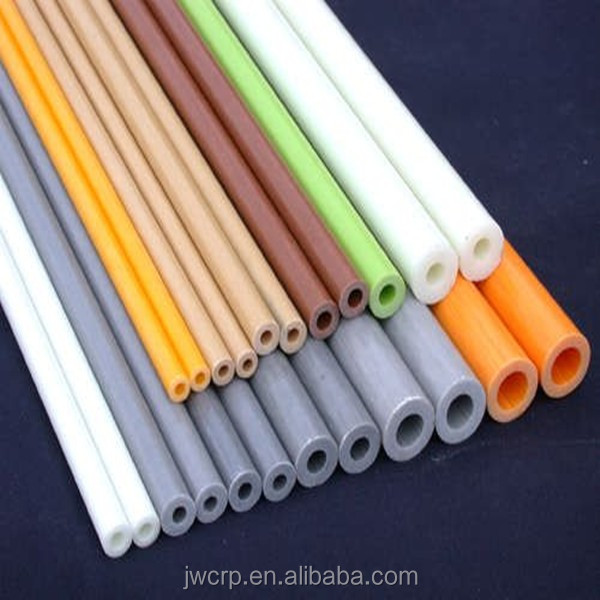 Pultruded UV & Corrosion Resistant FRP Fiberglass Tubing/Pole