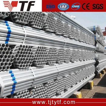 Multifunctional building materials galvanized steel pipe for wholesales