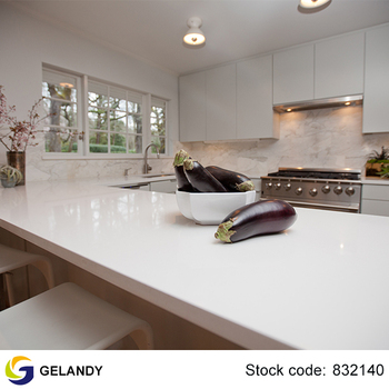 Merveilleux Manufacture Excellent Quality Sparkle White Quartz Countertop For Kitchen