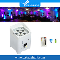 X Lighting High Quality Led Wash Small Uplights/Wireless Dmx Wifi Led Par Light