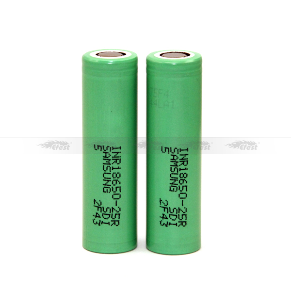 Best 18650 battery holder samsung inr 25r 2500mAh baterias 3.7v 18650 lithium battery for electric bicycle