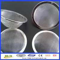20 mesh metal dome shape pipe screen filter