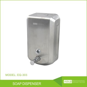 2016 China Supplier Hot Sale Liquid Soap Dispenser and Paper Box Packaging Export Manual Foam Soap Dispenser For Hand Sanitizer