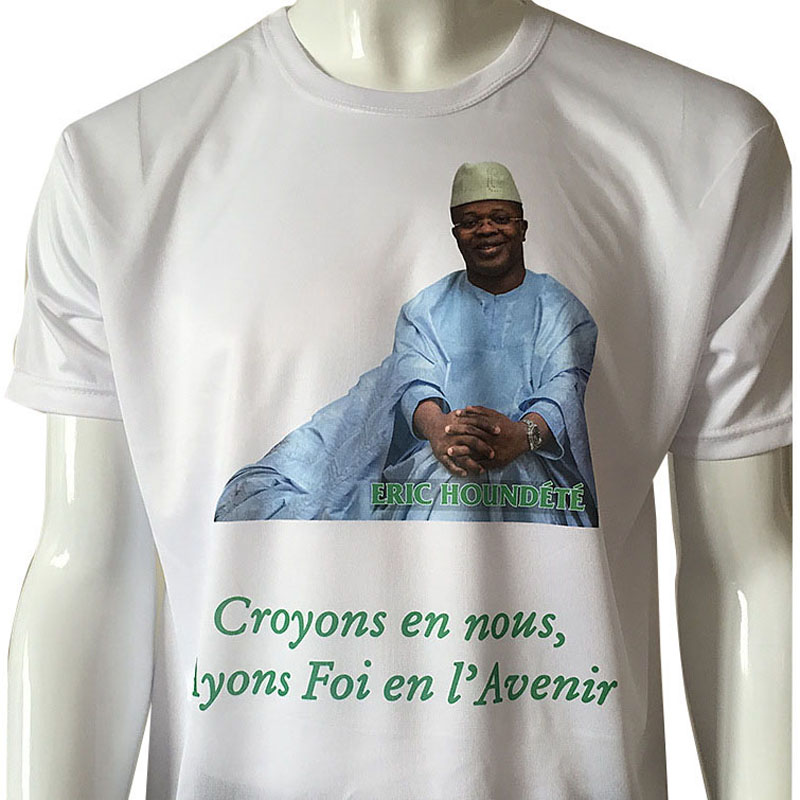 100% cotton customized political election tshirts for your own logo