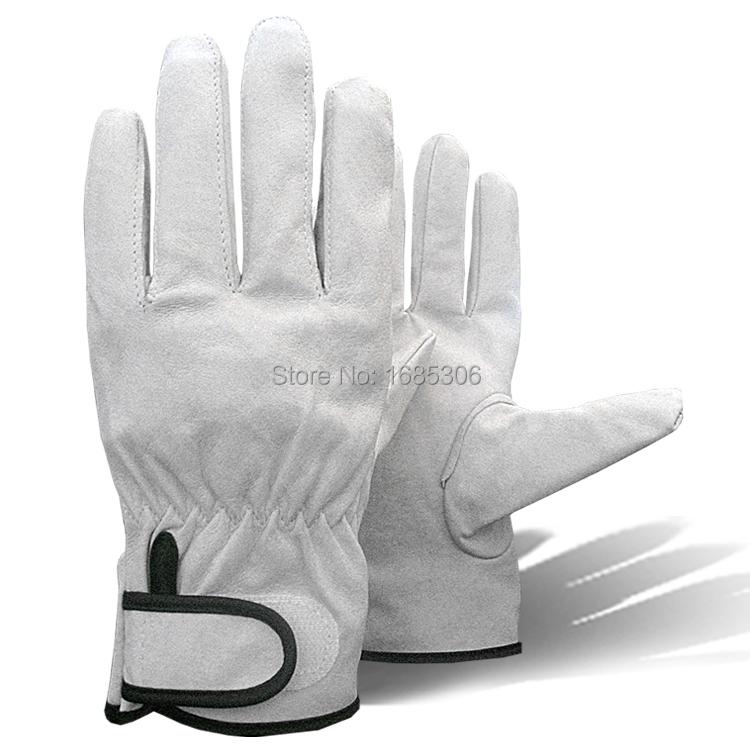 Рабочий перчатка с свиная кожа тонкий кожа перчатки комфортно-бесплатная скольжению перчатка alibaba