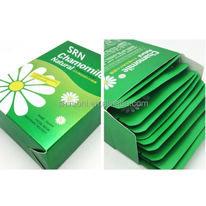 Plant Anti Aging Chammomile Female Facial Mask OEM shrink pore tightening to enhance skin processing