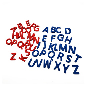 Educational uppercase or lowercase foam 3D English alphabet letters