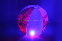 Flashing PVC Inflatable Beach Ball/pvc inflatable glitter beach ball