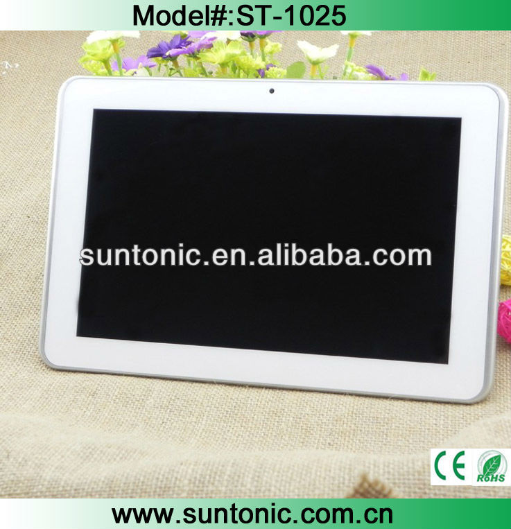 10.1inch tablet pc3g sim card slot Qualcomm S4 play MSM8225 1.2GHZ