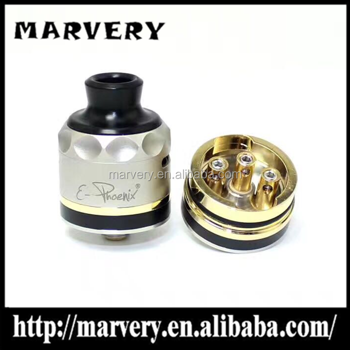 Hot selling 316ss E-Phoenix Resurrection rda sxk version e-phoenix rda bottom feeder E-PHOENIX firebird rda 22mm