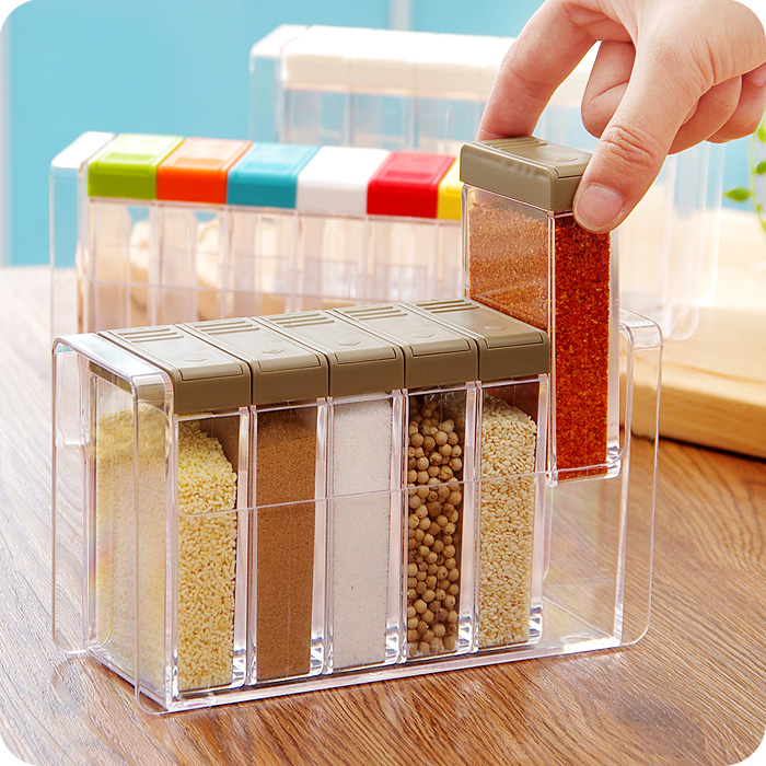 Kitchen Plastic Jar Set