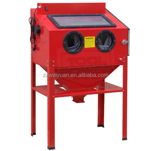(220L) Supplier China Mini Manual Sand Blasting MachineWX-220L