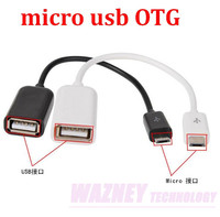 Micro USB OTG cable To Female USB Host Cable OTG Mini USB Cable For Tablet PC Mobile Phone MP4 MP5