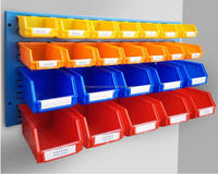 High Quality Multi Functional Organizer System & Industrial Plastic Wall Mounted Storage Bins