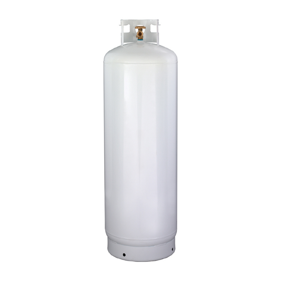 DOT 100lb propane cooking gas <strong>cylinder</strong> sizes Canada, Caribbean district and South America propane gas tank POL valve OPD valve