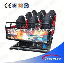 Professional manufacturer hydraulic motion cinema seat 5D cinema,7D cinema,9D cinema with cabin