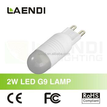 Best Selling G9 Led Light Bulbs 2w Laendi Shenzhen