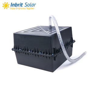 Supply IP67 Waterproof ABS Plastic Battery Box For Burying Solar Street Light