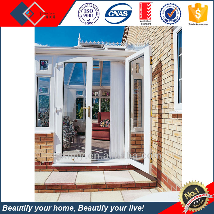 Public building aluminum fire-resistance glass door