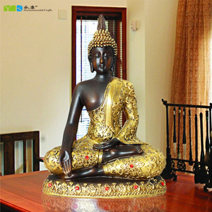 High quality Southeast Asia style home decorative resin statue Thailand buddha wholesale