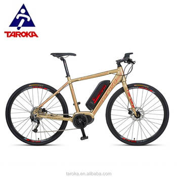 Oem 700c Customized Bafang Mid Drive Electric Cyclocross Bike Bicycle