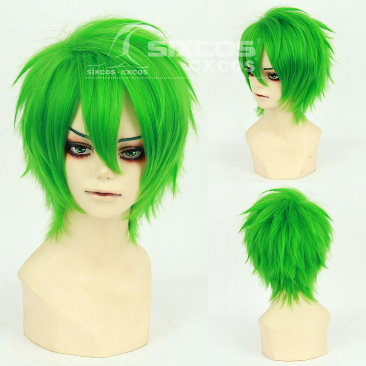 Get Quotations · BlazBlue - Hazama Fashion Men's Short wig Japanese Anime  Game Young universal Natural Cosplay wigs wig