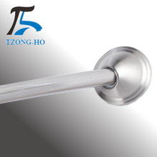 Sanitary shower rooms steel telescopic pole flexible bath partition rod