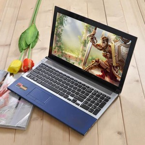 Gaming laptop 15.6'' intel i7 cpu notebook with 4G RAM 500G HDD OEM laptop computer